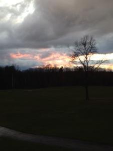 april 26 retreat sunset